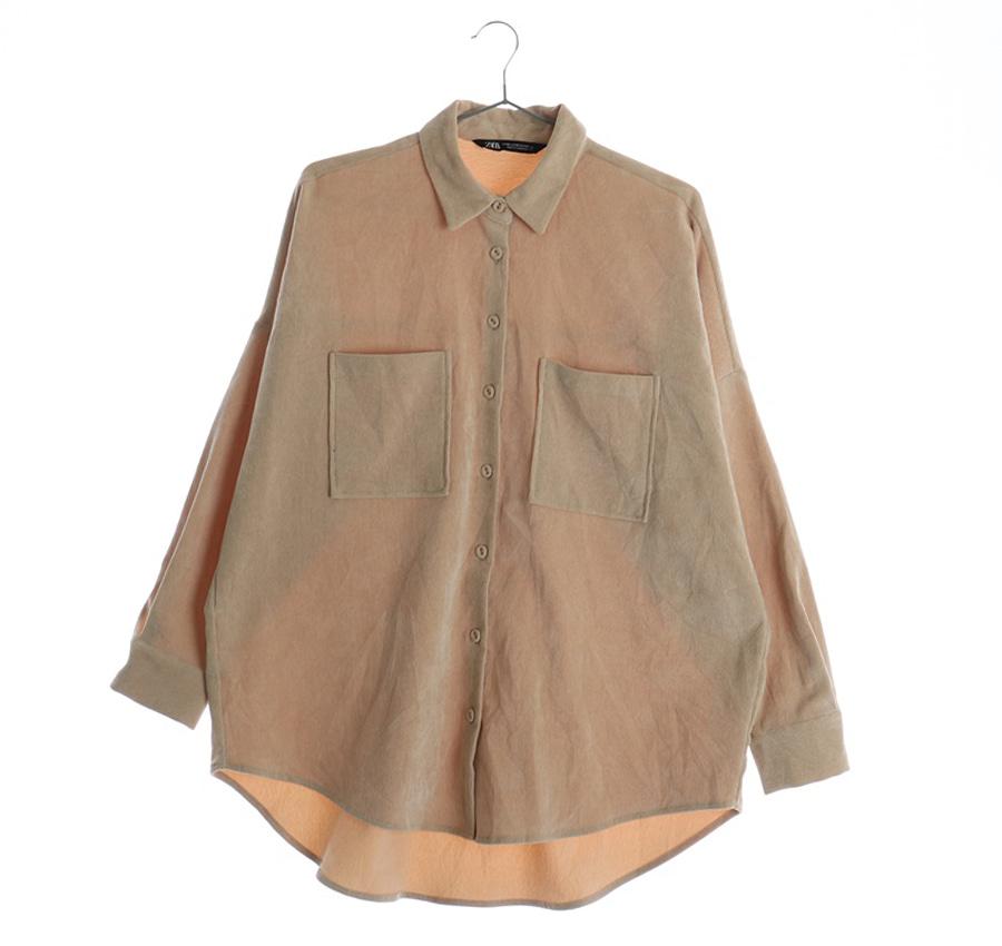 ZARA셔츠    11009n   WOMAN(L)