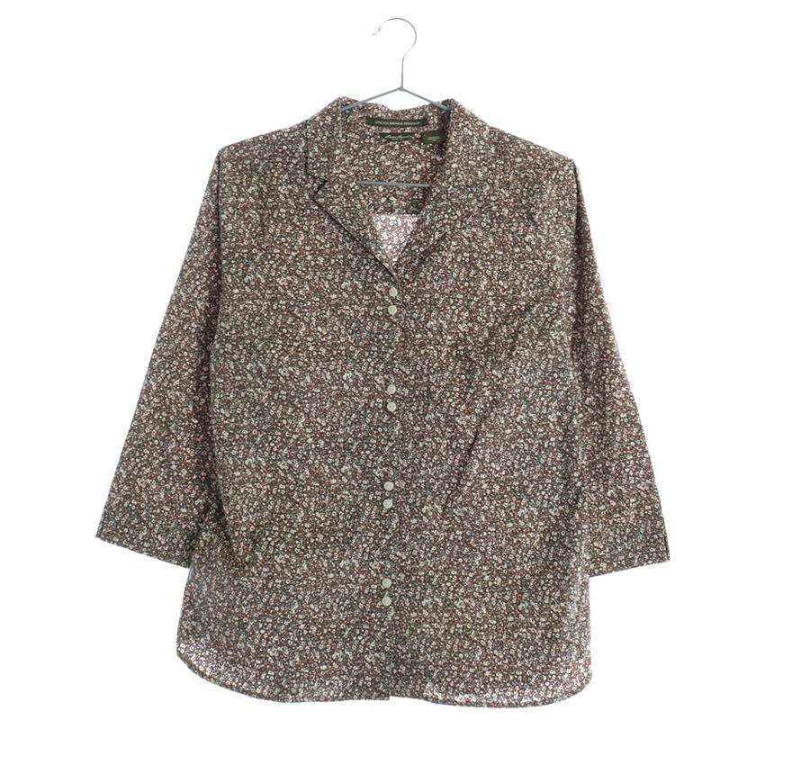 EDDIE BAUER셔츠    12061n   WOMAN(L)