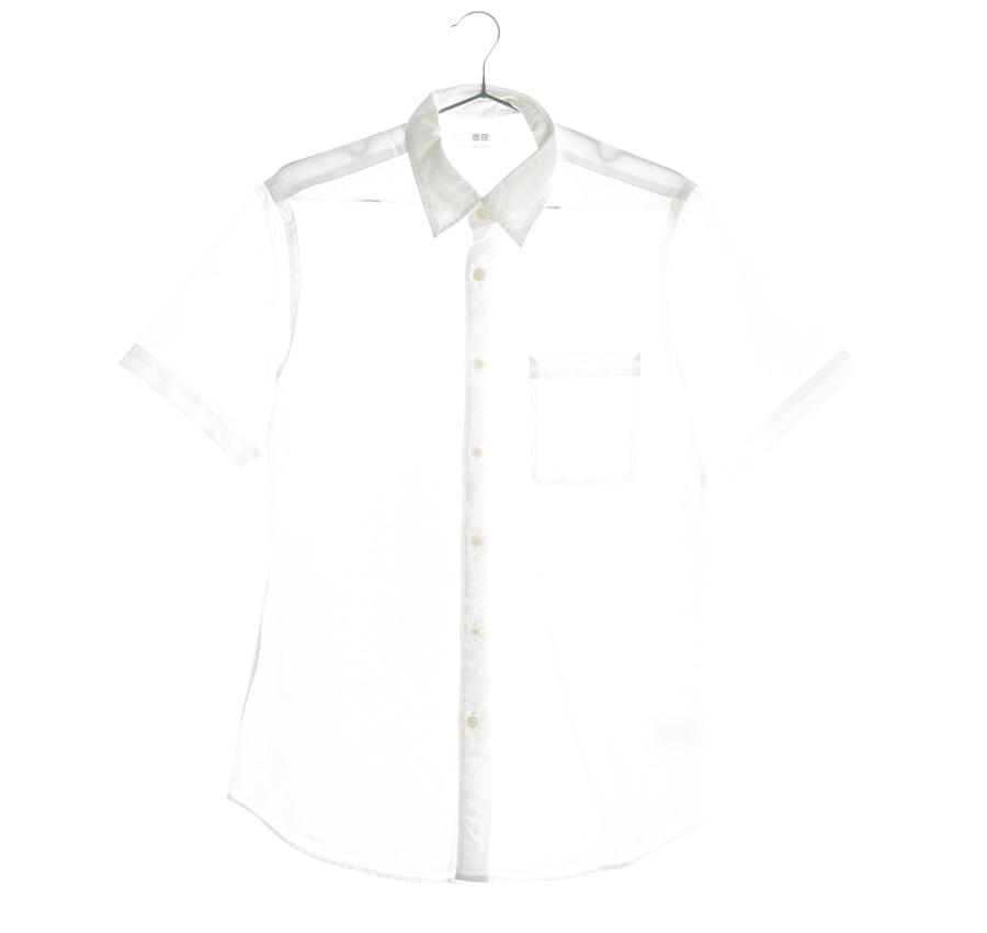UNIQLO린넨혼방셔츠    16890n   UNISEX(S)