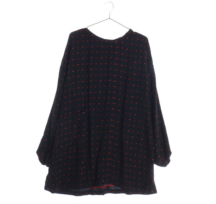 COMME CA ISM체크 반팔 셔츠     18099n   UNISEX(M)