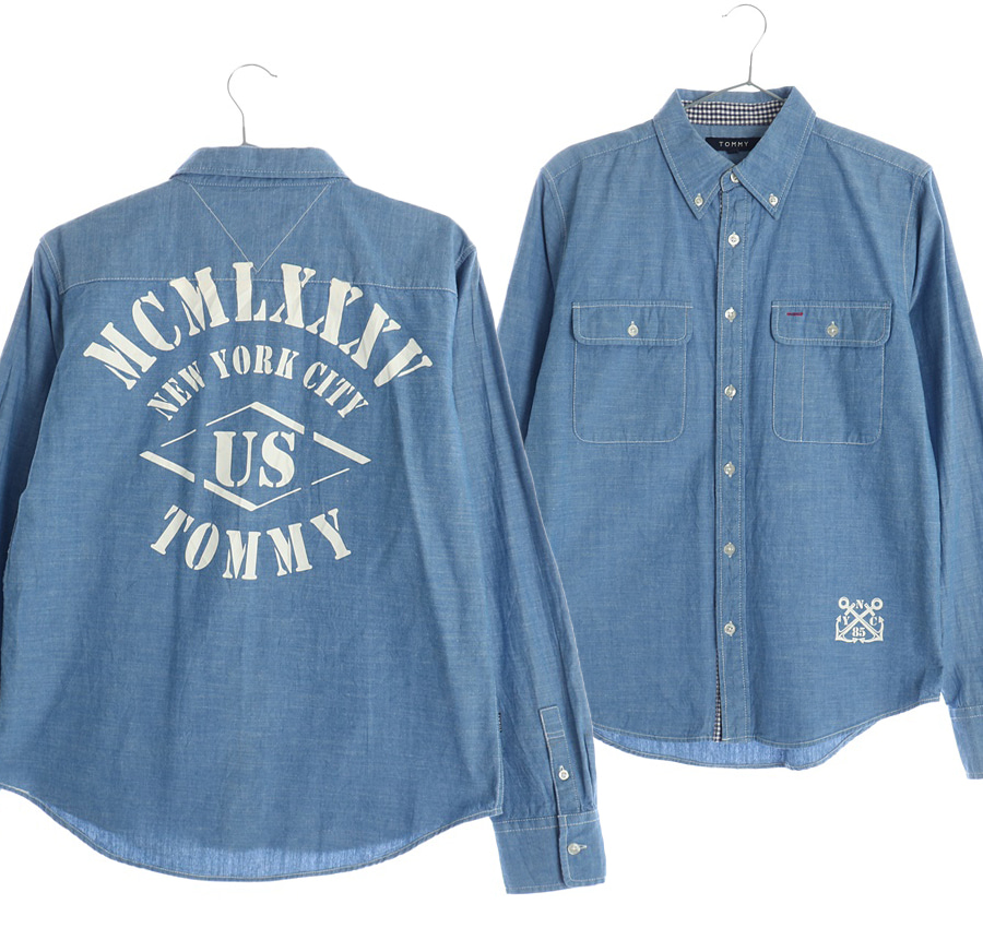 TOMMY 셔츠    4665s   UNISEX(S)