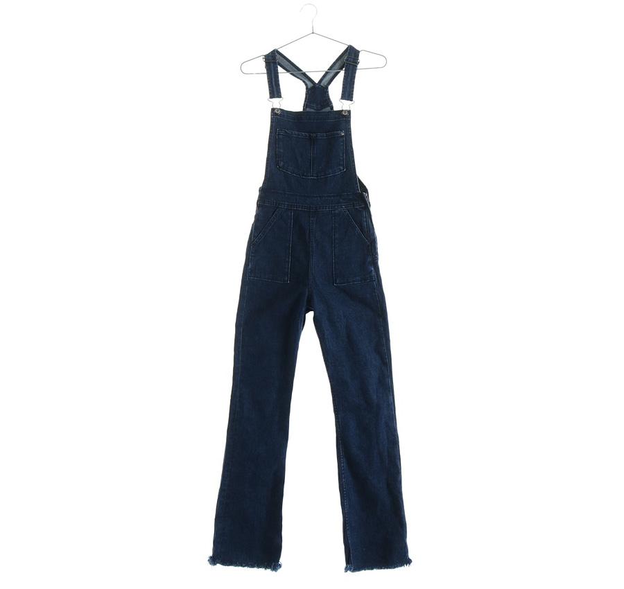 H&M오버롤팬츠    4801s   WOMAN (허리단면:26 cm)