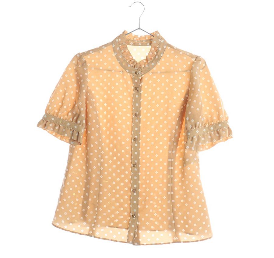 BLUE린넨혼방셔츠    5687a   WOMAN(L)