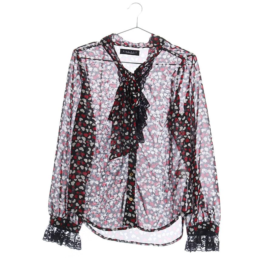 BACK NUMBER린넨혼방셔츠    5902a   UNISEX(L)