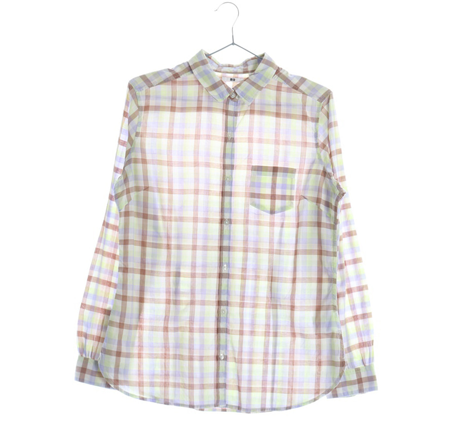 UNIQLO셔츠    6593n   WOMAN(L)