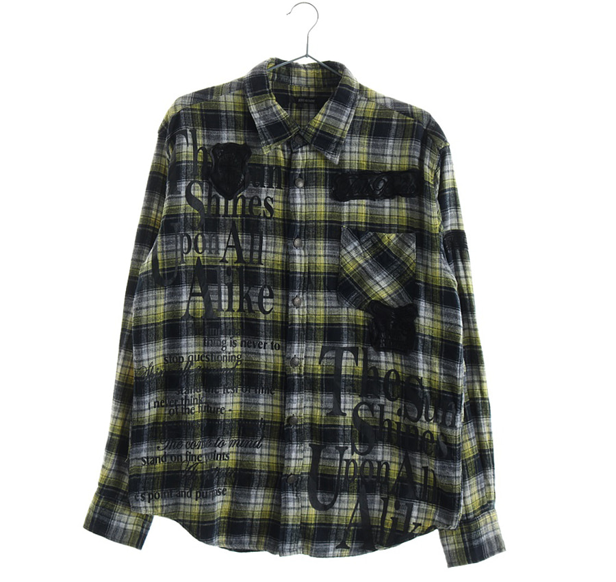 셔츠    6740s   UNISEX(L)