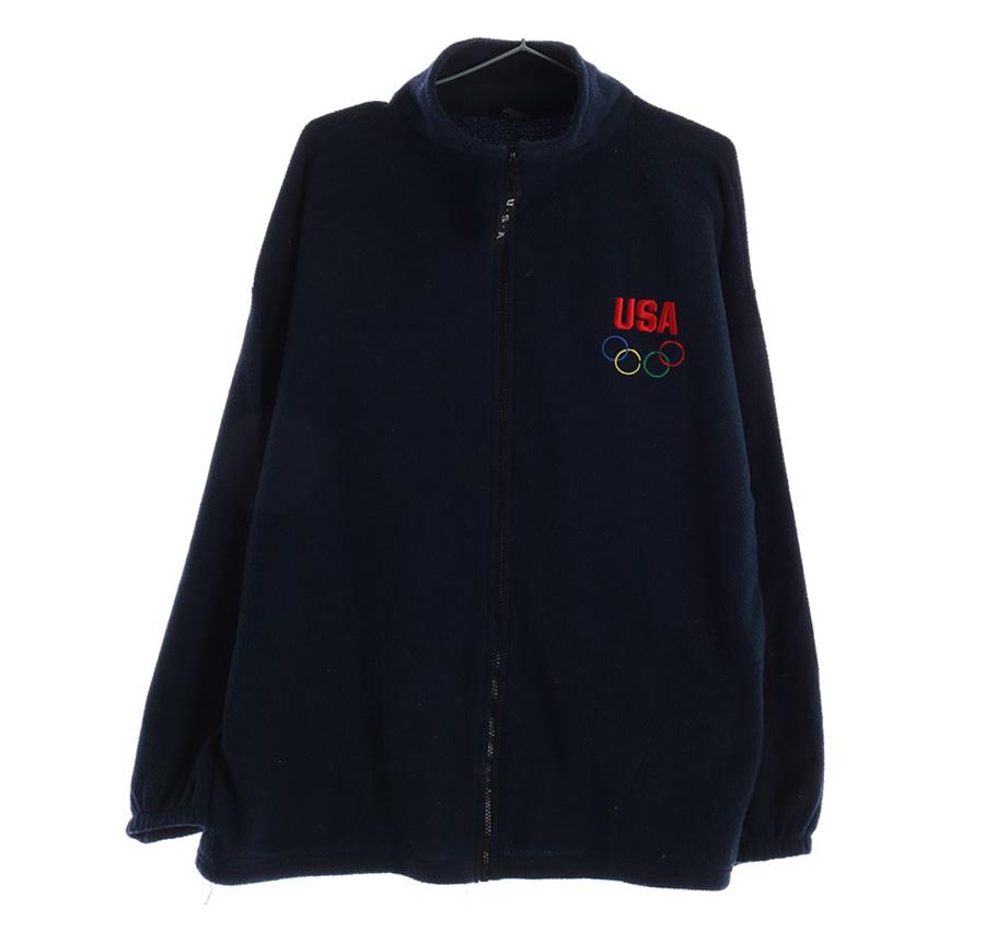 USA후리스집업    752n   UNISEX(XL)