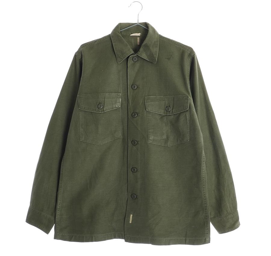 60'S H JAMES OG107밀리터리셔츠    7640s   UNISEX(M)
