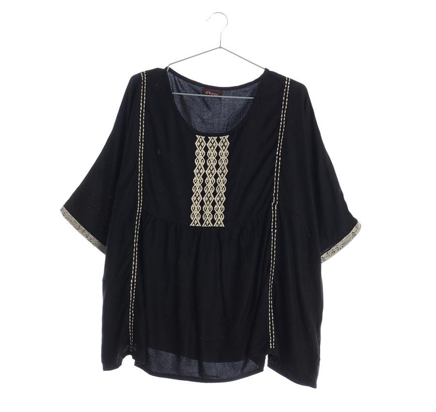 패턴 셔츠     14749n   UNISEX(L)