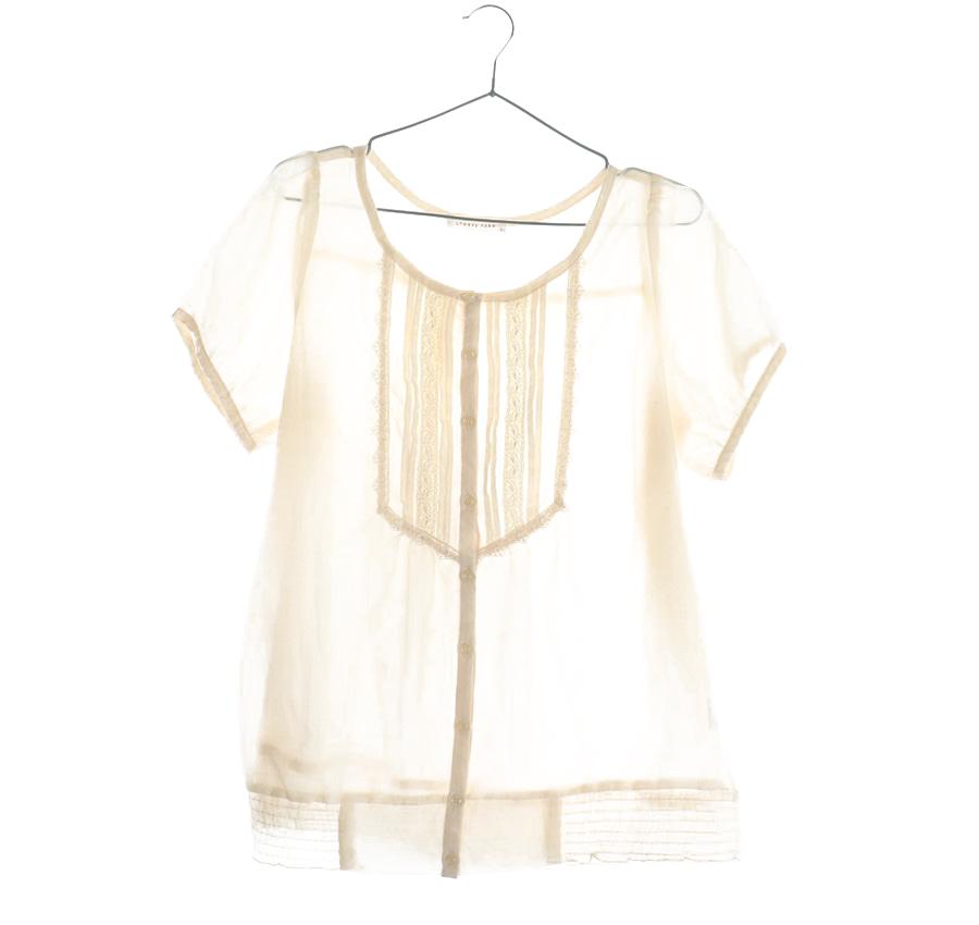 CLOSSHI린넨혼방 셔츠     15271n   UNISEX(L)