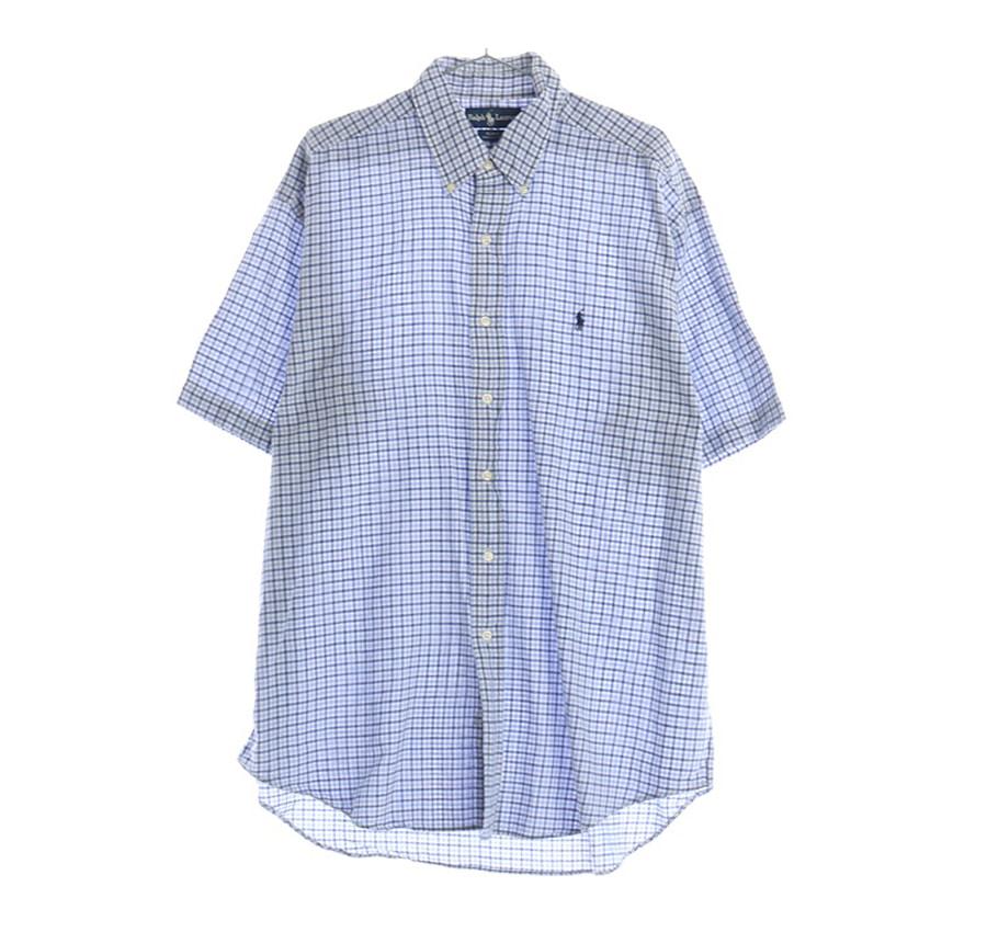 PRESWICK MOORE체크 셔츠     5389n   UNISEX(L)